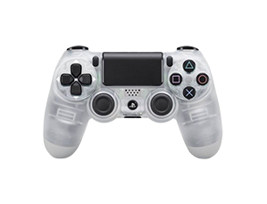 PS4 Crystal Clear Controller