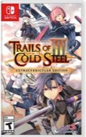 The Legend of Heroes - Trails of Cold Steel 3 Extracurricular Edition (Switch)