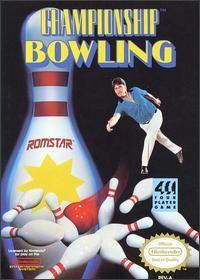 Championship Bowling Nintendo game