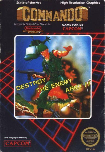 Commando Nintendo game