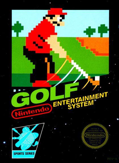 Golf Nintendo game