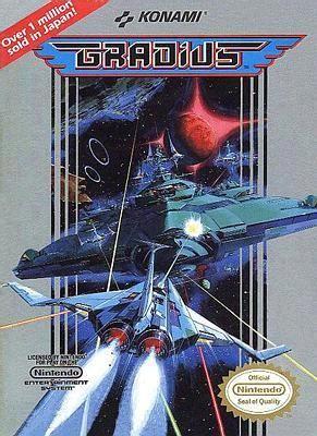 Gradius video game