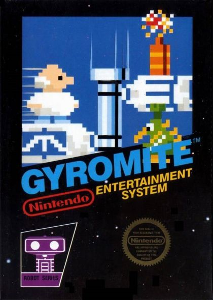 Gyromite Nintendo Video Game