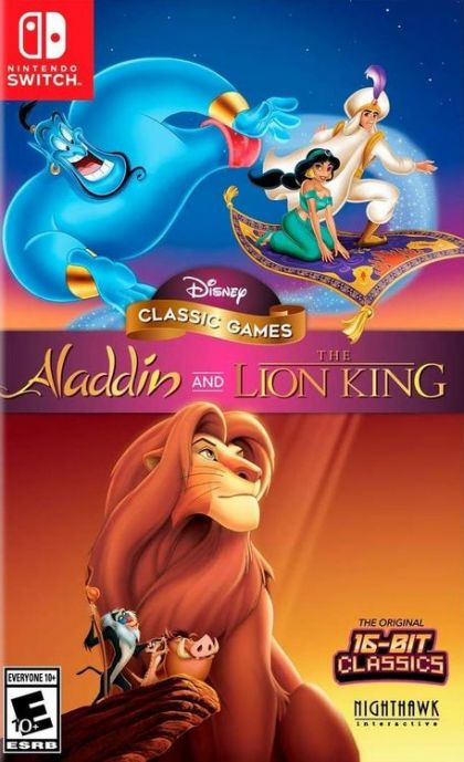 Disney Classic Games Aladdin and Lion King