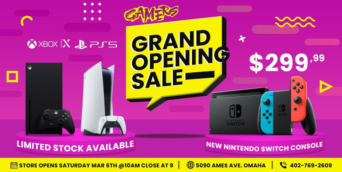 Gamers Celebrates New Location in North Omaha